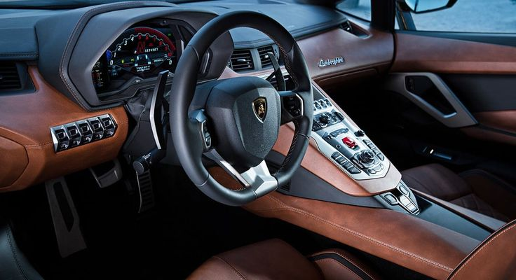 Lamborghini Aventador S Coupe Intérieur #lamborghini #aventadorS #supercar
