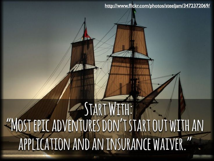 Alternate: Write the Insurance Waiver and Application for an epic hero application.