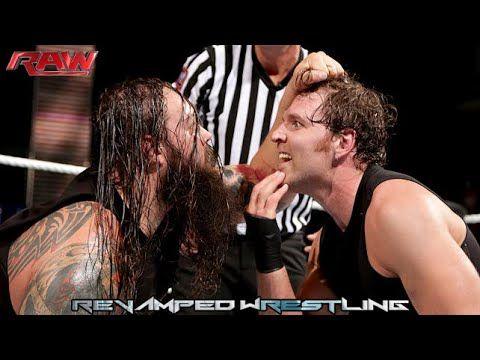 WWE RAW January 5 2015 - WWE RAW 1/5/15 Ambulance Match: Bray Wyatt vs Dean Ambrose - FULL PREVIEW #WWE #RAW