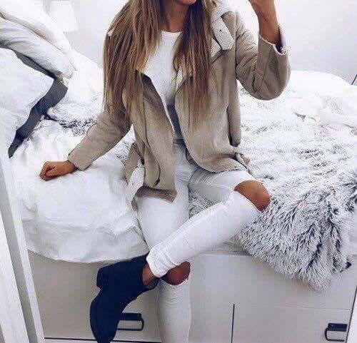 TOP idea ♥ #OOTD #White