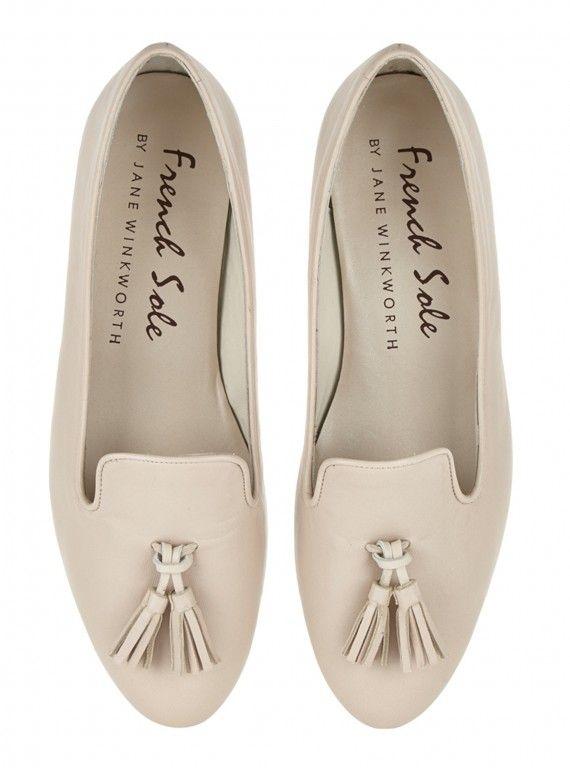 French Sole Hefner Tassle Shoes, £165