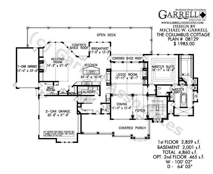 House Plans Craftsman Style Basement House Plans