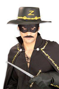 Zorro Moustache - Zorro Costumes