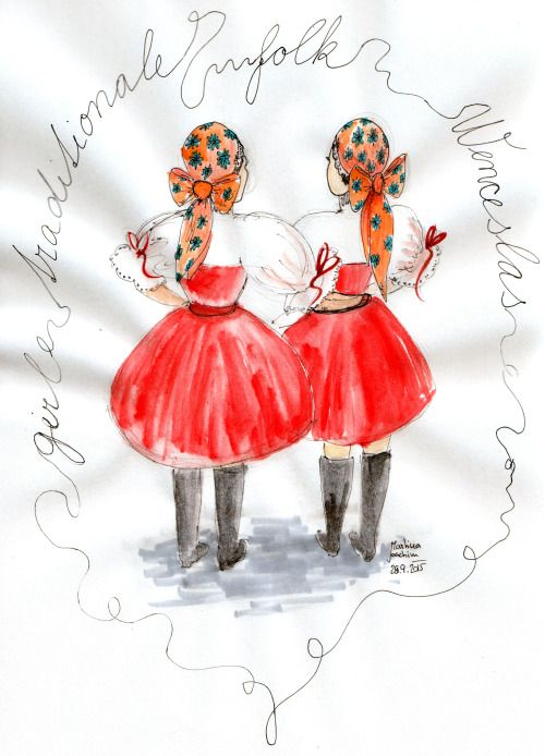 folk girls