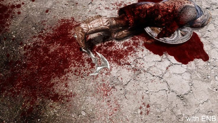 HD Blood and Gore Mod for Skyrim