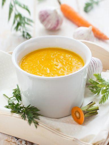 Soupe de carotte parfumée au cumin : Recette de Soupe de carotte parfumée au cumin - Marmiton