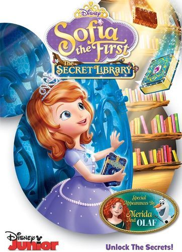 Sofia the First: The Secret Library [DVD]