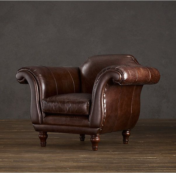Regency Leather Chair