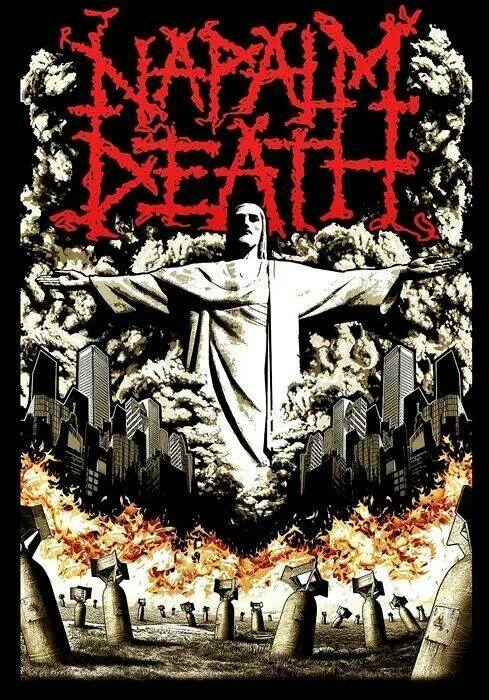 NAPALM DEATH!!! \m/