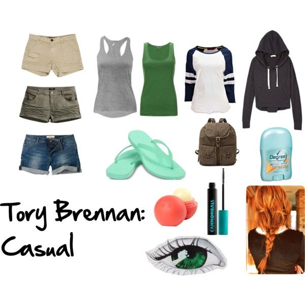 Tory Brennan: Casual by me on polyvore!