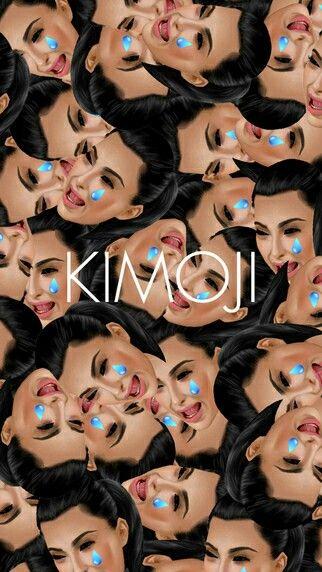 Kimoji kim kardashian