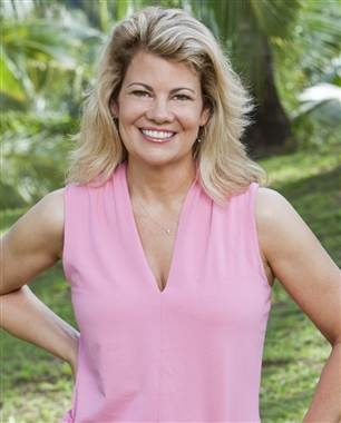 """Facts of Life"" star Lisa Whelchel is joining the latest ""Survivor"" cast. (Monty Brinton / CBS)"