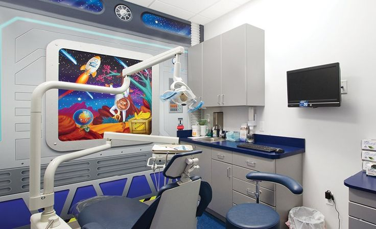 Outer Space and Aliens in Themed Dental Office | Imagination Dental Solutions