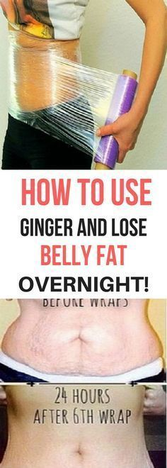 HERE'S HOW TO USE GINGER AND LOSE BELLY FAT OVERNIGHT!