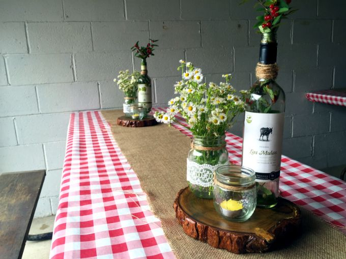 17 best ideas about checkered tablecloth on pinterest for Backyard bbq decoration ideas