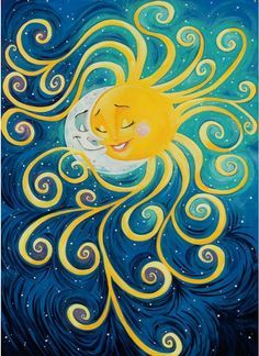 What a cool picture of the sun and moon together :)