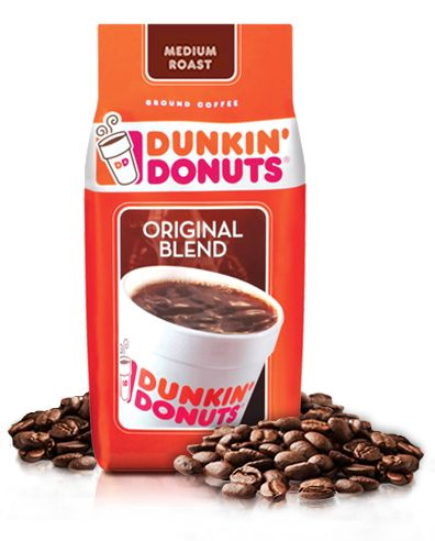 Original Blend Dunkin' Donuts Coffee whole bean ~ this link is also a store locator of who sells it nearby (other stores, not the donut shops)