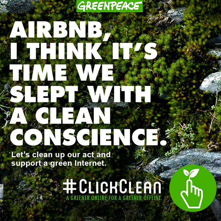 The community hospitality company Airbnb is growing fast with listings now in nearly 200 countries around the world and 8.5 million users.   SHARE if you think it's time for Airbnb to power all those listings with 100% renewable energy so we can #clickclean!   http://www.greenpeace.org/usa/en/campaigns/global-warming-and-energy/A-Green-Internet/ClickClean/