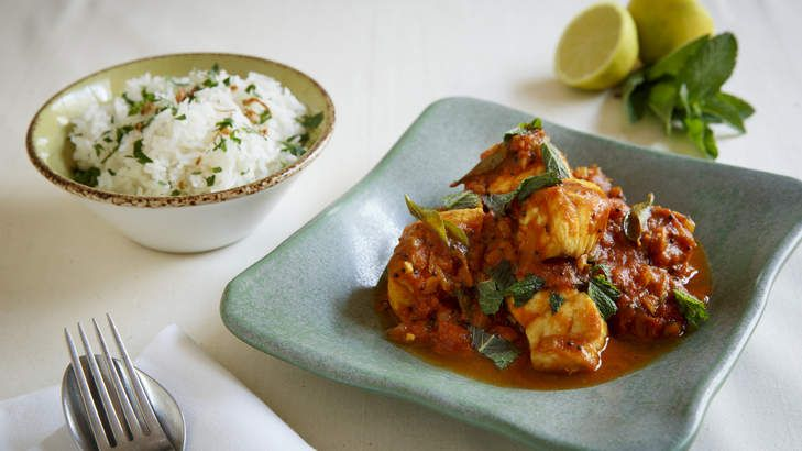 Vibrant flavours: Snapper curry with tomato and tamarind.