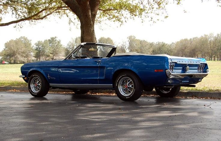 1968 Mustang | 1960 to 1969 CARZ | Pinterest | 1968 mustang, Mustang and Ford mustang convertible