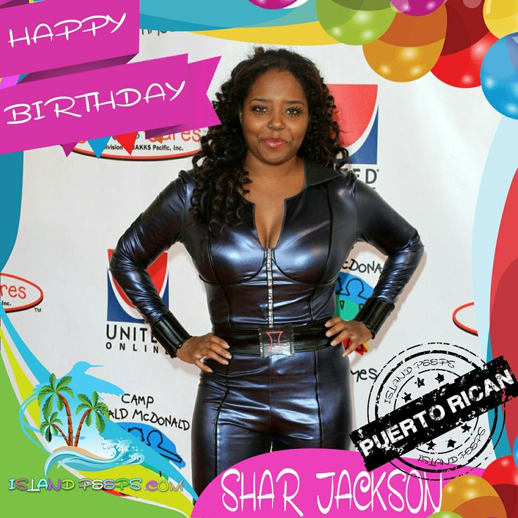 Happy Birthday Shar Jackson!!! Actress & Singer born of Puerto Rican descent!!! Today we celebrate you!!! @Shar_Jackson #SharJackson #islandpeeps #islandpeepsbirthdays #Moesha #celebrityfitclub #puertorico