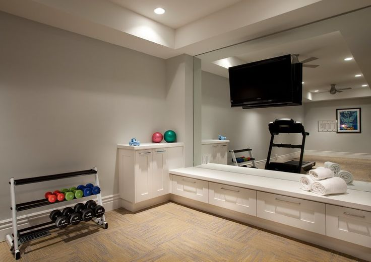 Home gym storage ideas home gym traditional with exercise ...
