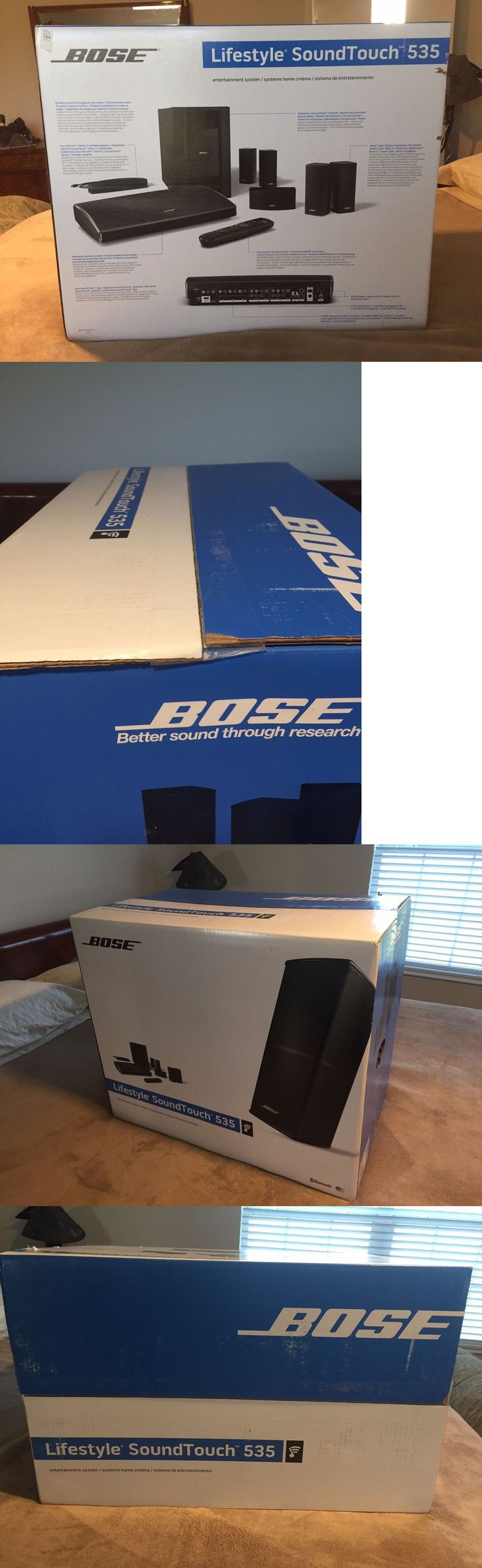 Home Theater Systems: Brand New Bose Lifestyle Soundtouch 535, Factory Sealed, Never Opened. -> BUY IT NOW ONLY: $2599 on eBay!