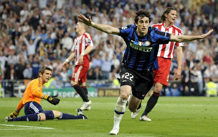 Millito scoring the 2nd goal in Champions League final!