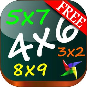 Multiplication Games Math FREE - Times Tables Quiz Trainer for Kids 12x12 - Educational App for Second, Third and Fourth Grade by Maria Dolores Garcia Ferre