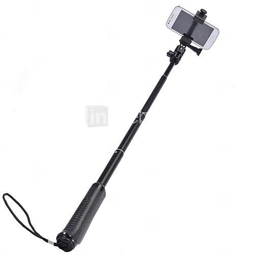 HY A01 Selfie Sticks Bluetooth Monopod Flexible Rod 2016 - $17.99