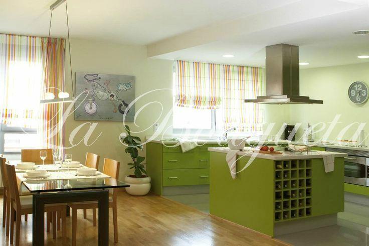 Dale color a tu cocina y apuesta por estampados llamativos y divertidos.