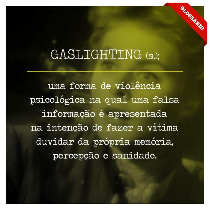 Gaslighting - Glossário