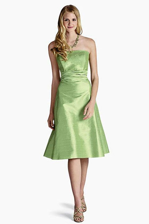 Strapless taffeta bridesmaid dress with natural waist  Read More:    http://weddingscasual.com/index.php?r=strapless-taffeta-bridesmaid-dress-with-natural-waist.html