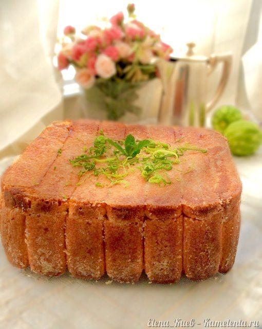Яблочный пирок с савоярди