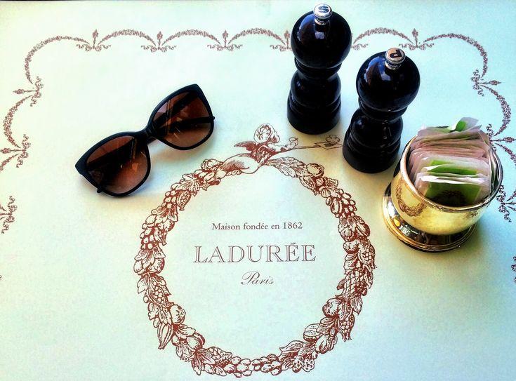 Laduree' – Quaint Parisian Tea Salon #Laduree #Parisian #Afternoon #Tea #Room #London