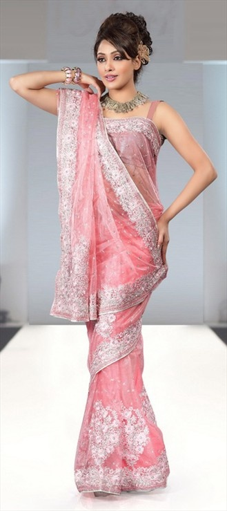 #sridevi wore similar saree while promoting her latest movie 'English Vinglish'. Like?