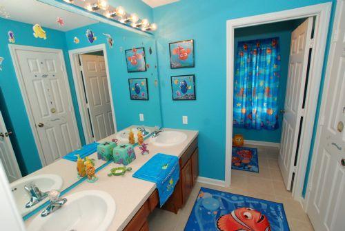 23+ Unique and Colorful Kids Bathroom Ideas | Kids #Bathroom Ideas