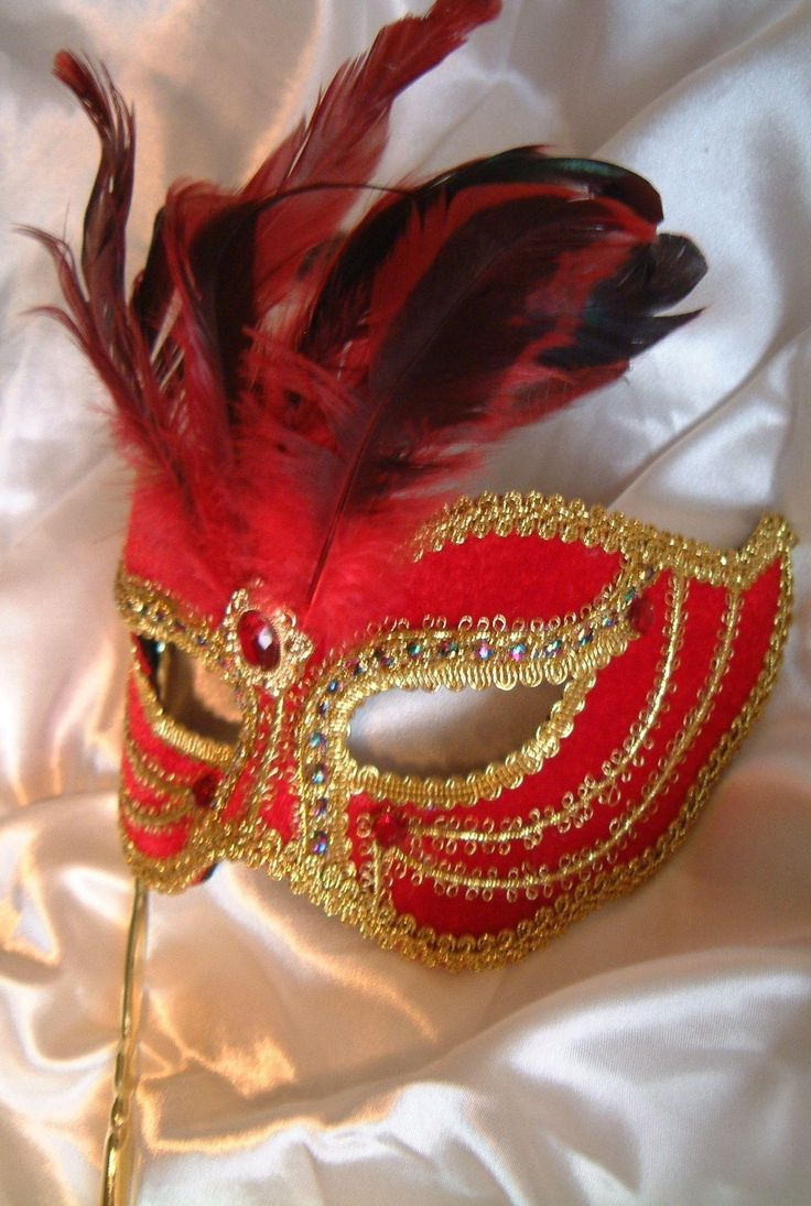 Masquerade Decorations You Make Yourself - Victorian masks for masquerade ball