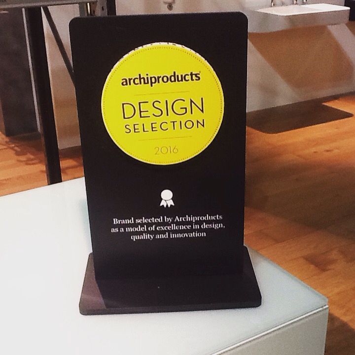 Rapsel booth got the archiproducts design selection