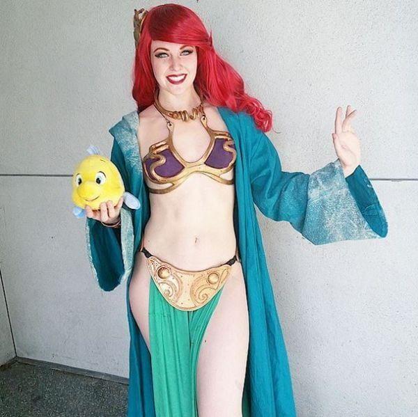 the-little-mermaid-gets-slave-leia-and-boba-fett-mashup-cosplay