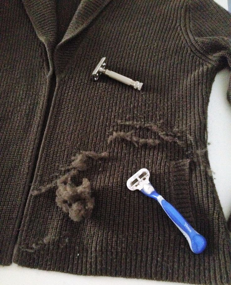 Use Your Razor To De-Pill Clothing And Save Textile Waste - The Minimalist And Frugalist In You Will Love It.