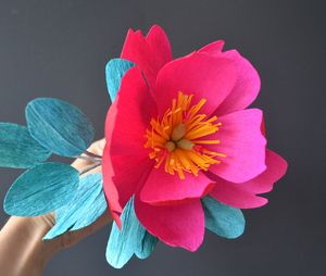 Paper Flowers by Lucia Balcazar #paperflowers