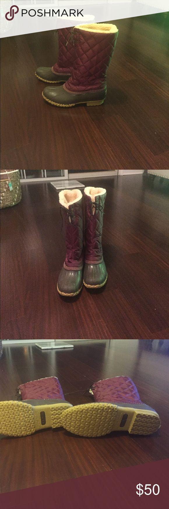 LL BEAN SNOW BOOT Size 10 LL Bean Shoes Winter & Rain Boots