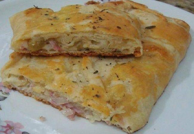Pão de Pizza, Receita fácil e prática, aprenda como fazer essa delicia para seu lanche, é delicioso e fácil de fazer, anote a receita de Pão de Pizza.