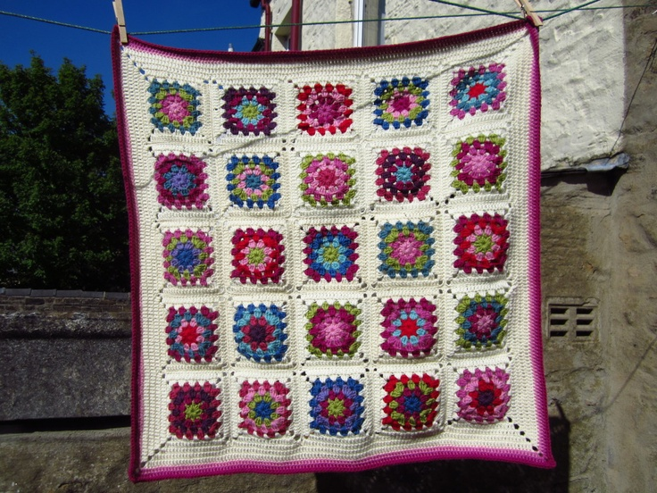 """Little Tin Bird » Finally Finished: """"Just for Me"""" blanket"""