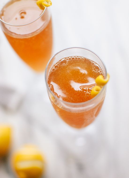 Earl Grey-infused gin makes this French 75 brunch appropriate! This strong, sparkling, citrusy cocktail would be welcome any time of day, though.