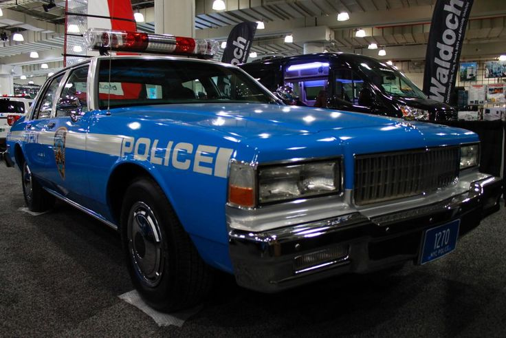 This '89 Chevrolet Caprice is dedicated to fallen NYPD Officer Edward Byrne who was killed in the line of duty in 1988 when two men shot him while he was sitting in a similar patrol car in South Jamaica, Queens.