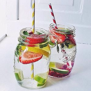 In The Bloom Blog | Detox Waters: Because Fruitless Water is SO Last Year.  #detoxwater #NaturalBeauty