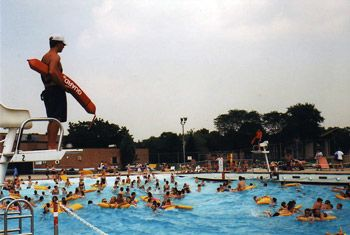 Big Surf Wave Pool   Mt. Prospect Park District Think i was here before.