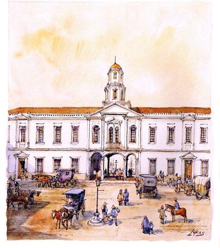 Tinta   acuarela - Lukas y Valparaiso